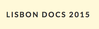 Lisbon Docs: Novo Website