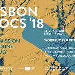 LISBON DOCS 2018 – candidaturas até 30 de Julho
